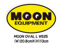 MOONEYES Oval L Sticker