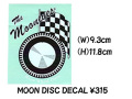 MOONEYES DISC Sticker 2枚!