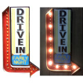 LED WALL SIGN DRIVE IN
