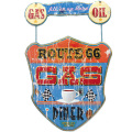 WALL SIGN R66GAS&DINERサイン