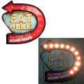 LED WALL SIGN EAT HERE