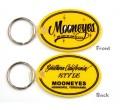 ムーンアイズ オーバル ラバー キーリング  | MOONEYES Oval Rubber Key Ring
