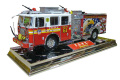 1/32SCALE Code 3 COLLECTIBLES PRESERVE THE HONOR FDNY SQUAD 61 消防車