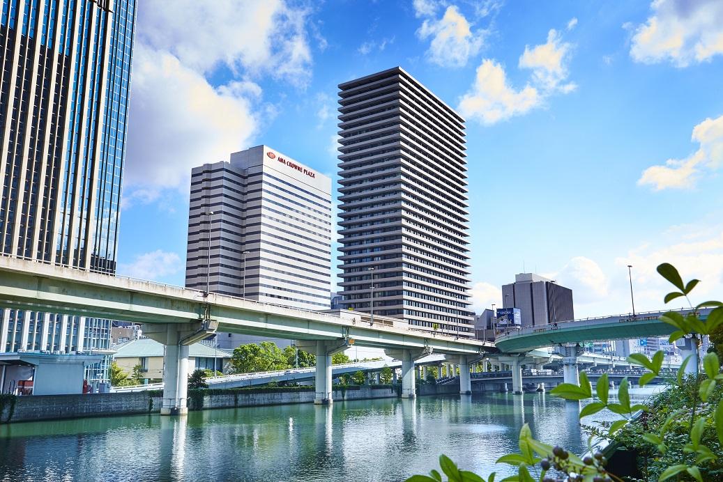 ANAクラウンプラザホテル大阪 外観
