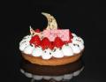 【クリスマスケーキ2019】ストロベリークリスマスタルト【サイズ:直径16cm】【デリカショップ 店舗お受け取り商品】【店頭お渡し期間:12月14日から25日まで】