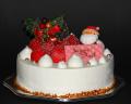 【クリスマスケーキ2019】生デコレーション【5号】【デリカショップ 店舗お受け取り商品】【店頭お渡し期間:12月14日から25日まで】