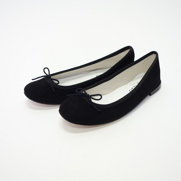 repetto Cendrillon/サンドリオン Goatskin suede/ゴートスキンスエード