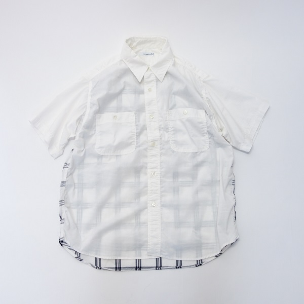 nanamica H/S Check Wind Shirt 【SALE】