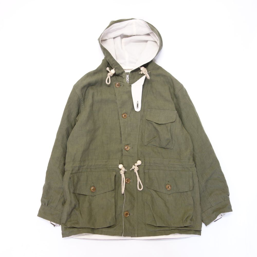 Nigel Cabourn EL CAPTAIN JACKET - HIGH DENSITY LINEN