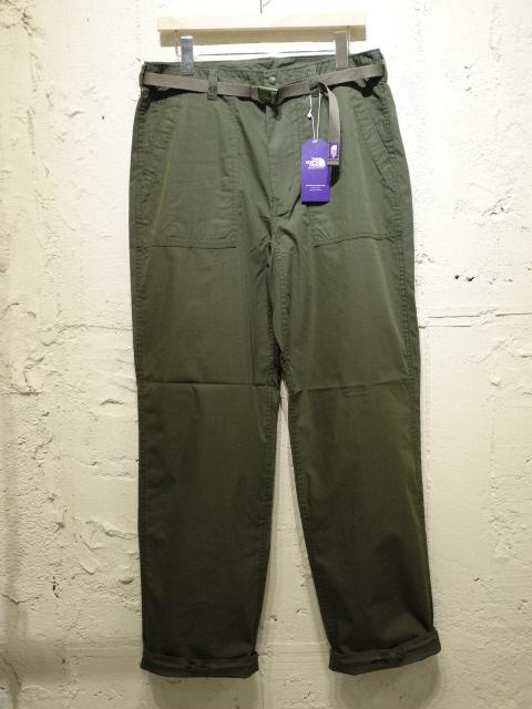 THE NORTH FACE PURPLE LABEL Cotton Nylon Ripstop Field Pants