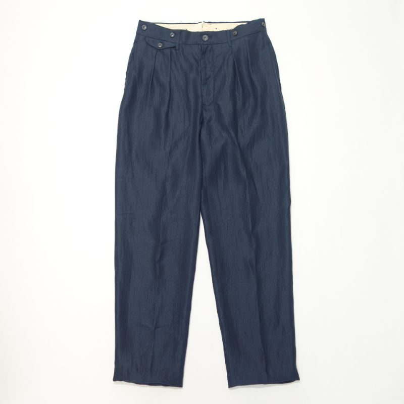 Nigel Cabourn OFFICERS PANT - LINEN TWILL