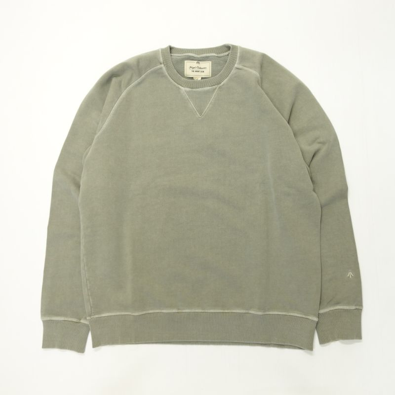 Nigel Cabourn THE ARMY GYM EMBROIDERED ARROW CREW