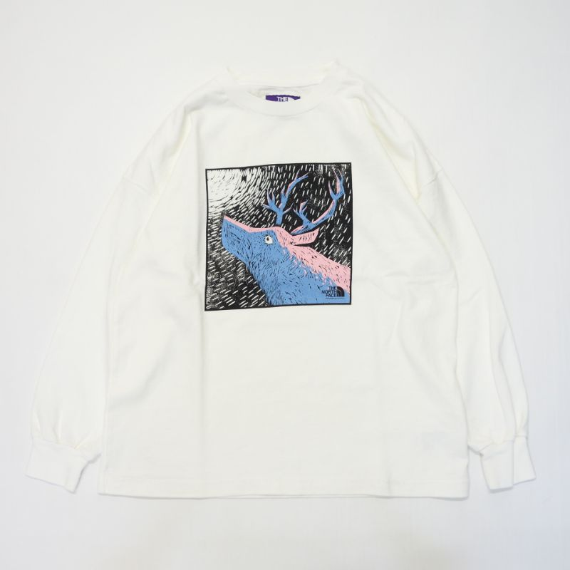 THE NORTH FACE PURPLE LABEL 8oz L/S Graphic Tee