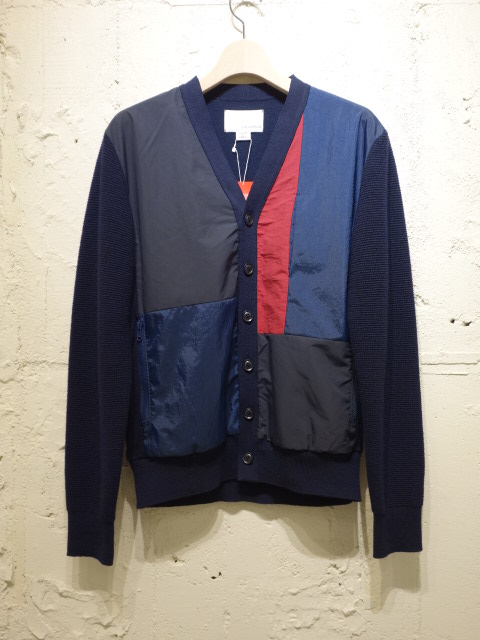 nanamica Hybrid Cardigan 【SALE 30%OFF】