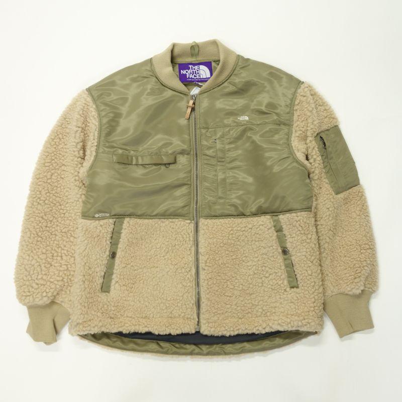 THE NORTH FACE PURPLE LABEL Wool Boa Fleece Denali Jacket