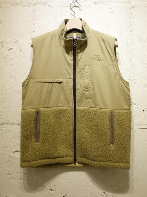 THE NORTH FACE PURPLE LABEL POLARTEC Denali Vest 【SALE 30%OFF】