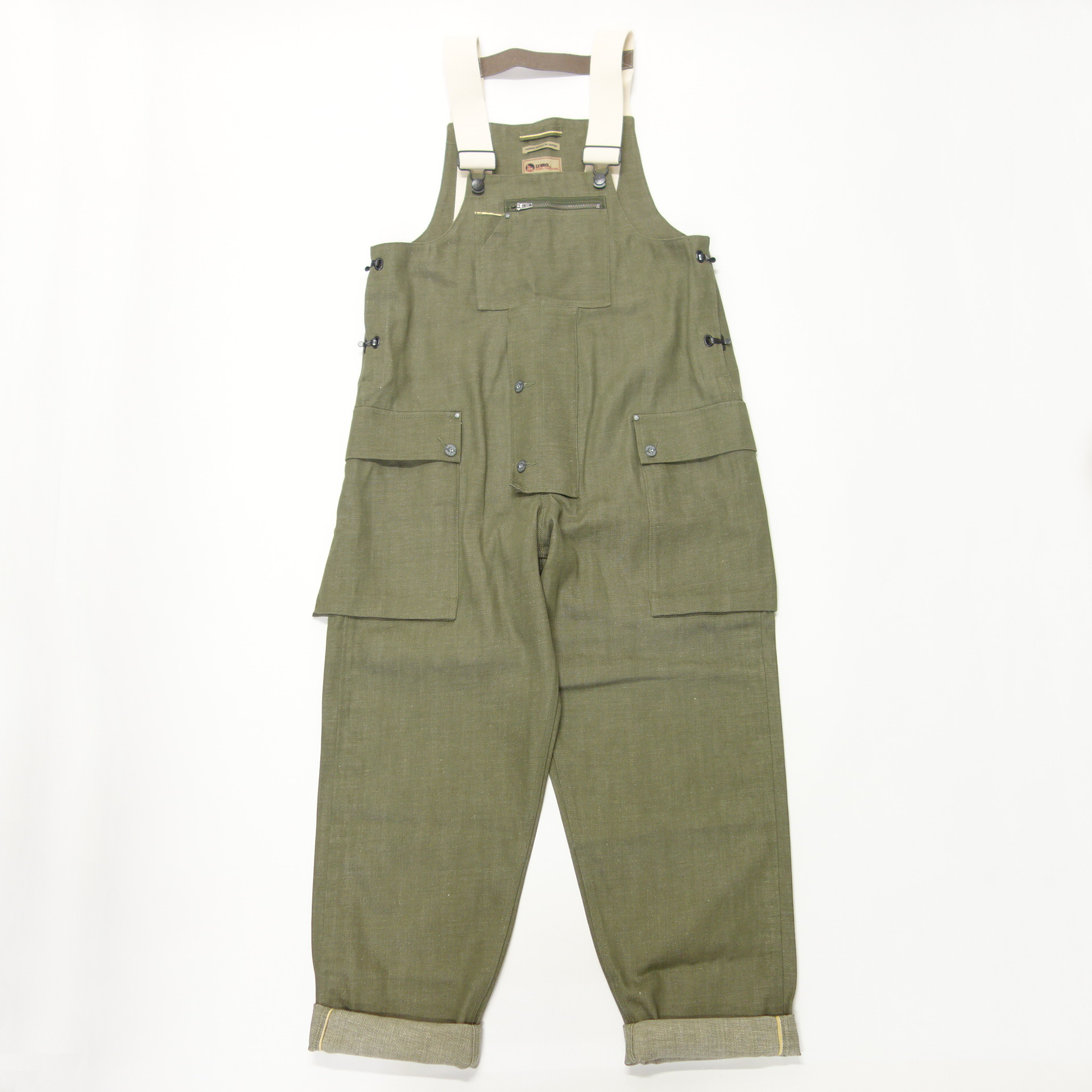 Nigel Cabourn LYBRO NAVAL DUNGAREE - JAPANESE DENIM
