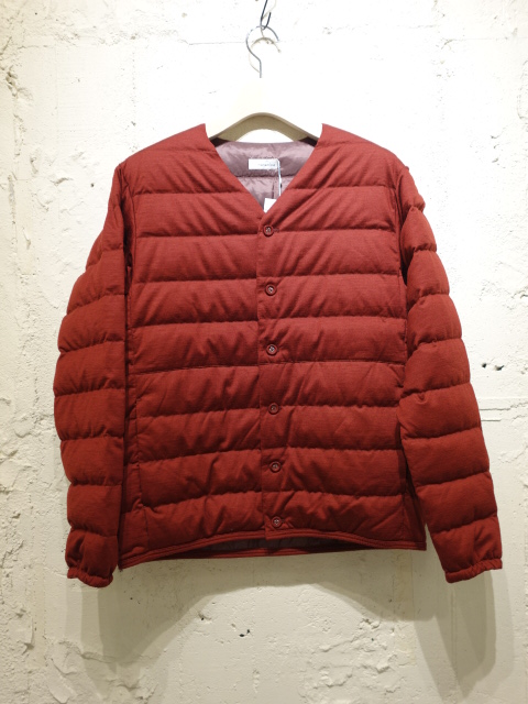 nanamica Down Cardigan 【SALE 30%OFF】