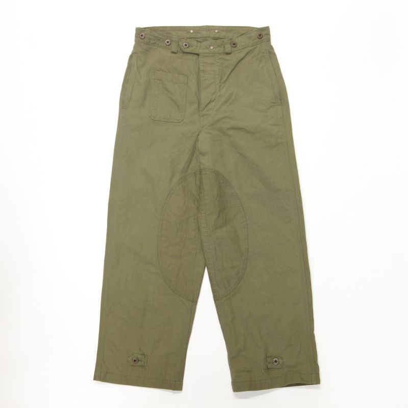 Nigel Cabourn MOTORCYCLE PANT - CANVAS