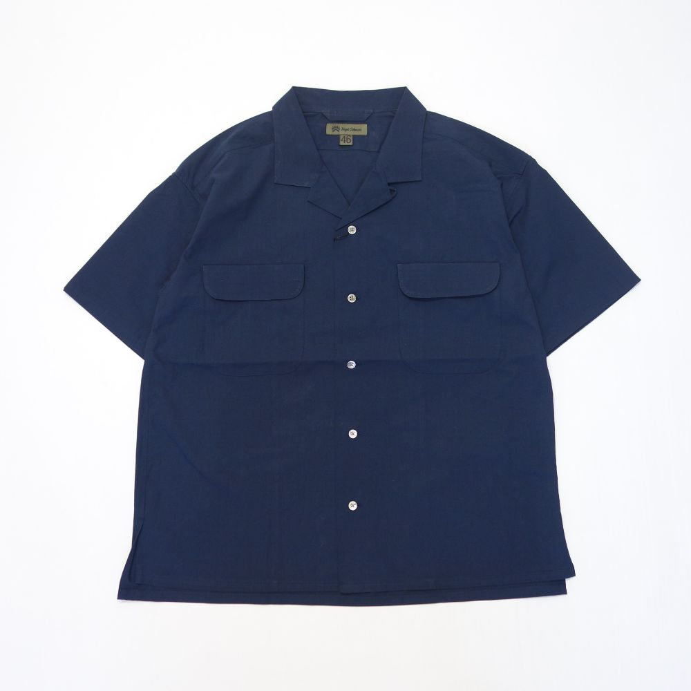 Nigel Cabourn OPEN COLLARED SHIRT S/S TWILL