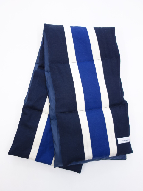 nanamica Stripe Down Muffler 【SALE 30%OFF】