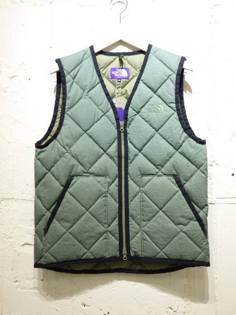THE NORTH FACE PURPLE LABEL Cotton Down Vest