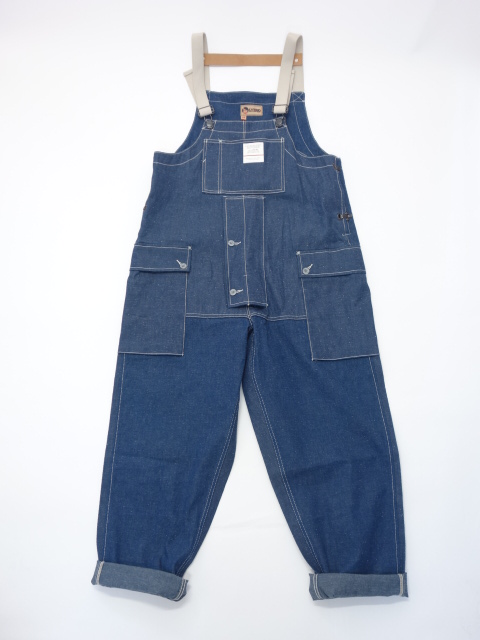 Nigel Cabourn NAVAL DUNGAREE - 10OZ JAPANESE DENIM