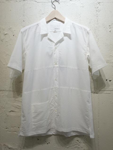 nanamica Panel Open Collar Shirt