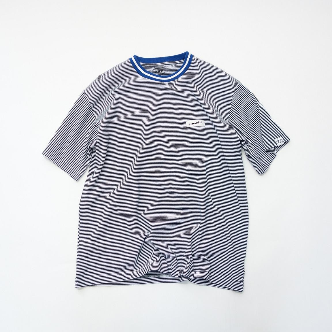 nanamica nanamican Stripe Tee 【SALE】