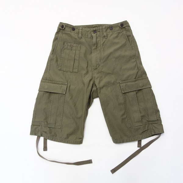 Nigel Cabourn ARMY CARGO SHORT PANT