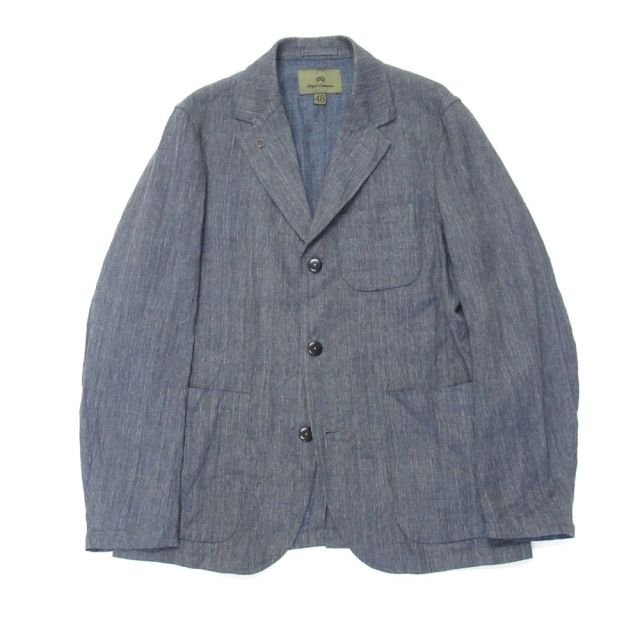 Nigel Cabourn HOSPITAL JACKET - LINEN CHAMBRAY