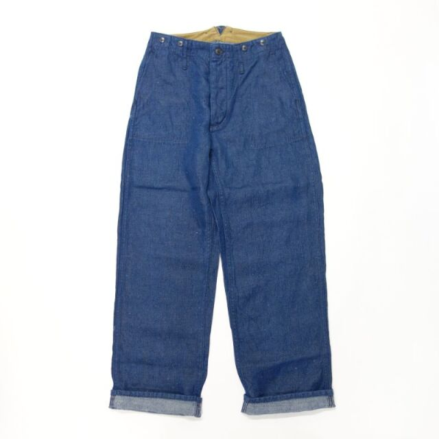Nigel Cabourn ENGINEER PANT - HEMP DENIM