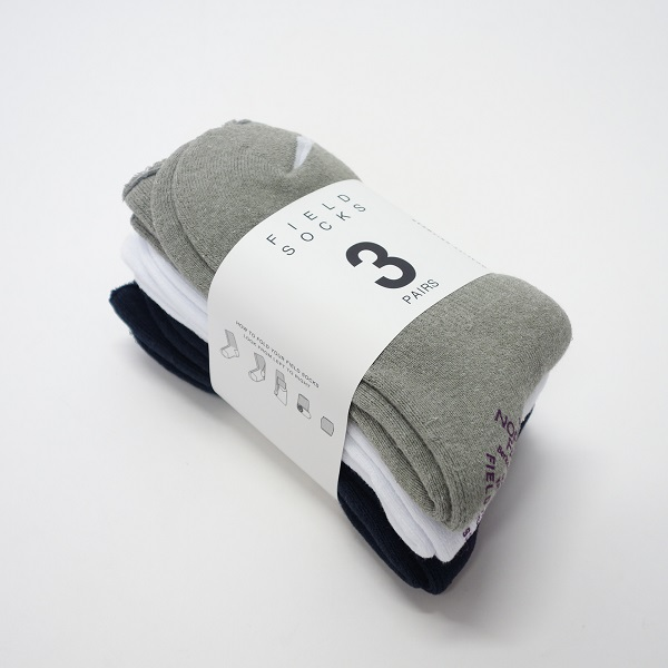 THE NORTH FACE PURPLE LABEL Field Socks 3P