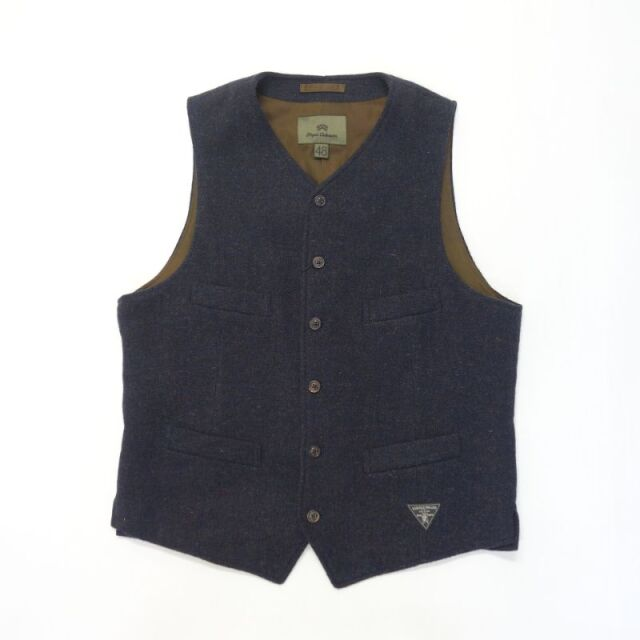 Nigel Cabourn ATKINSON VEST - WASHABLE WOOL