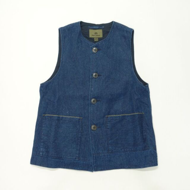 Nigel Cabourn JERKIN VEST - HEMP DENIM