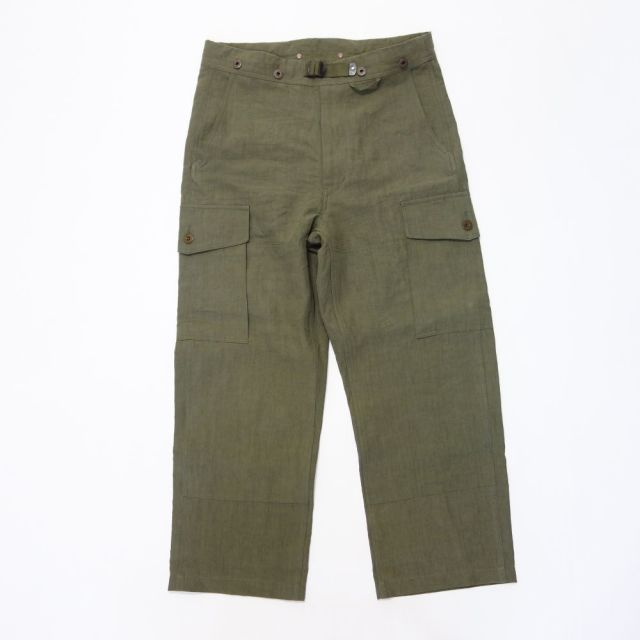 Nigel Cabourn S.A.S. COMBAT PANT- HIGH DENSITY LINEN