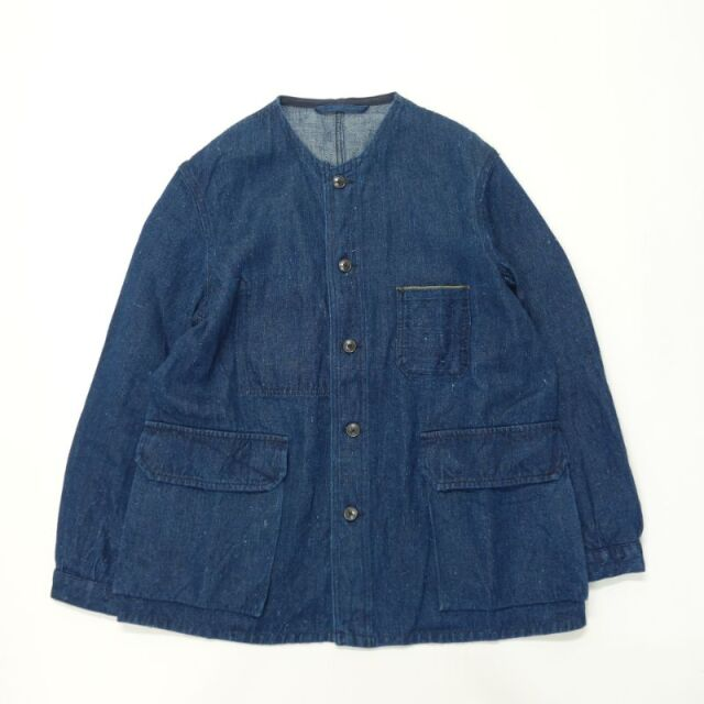Nigel Cabourn ENGINEER JACKET - HEMP DENIM