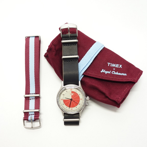 Nigel Cabourn X TIMEX REFEREE WATCH