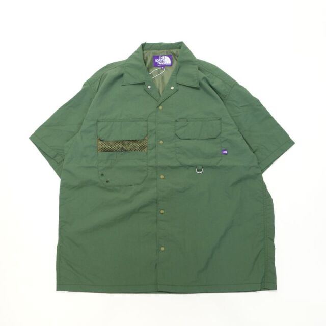 THE NORTH FACE PURPLE LABEL Lounge Field H/S Shirt 【SALE】