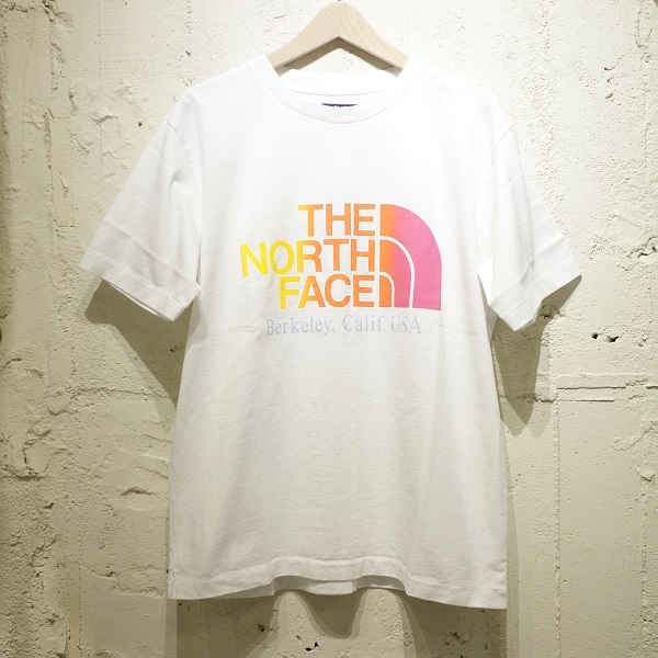 THE NORTH FACE PURPLE LABEL 5.5oz H/S Logo Tee 【SALE】