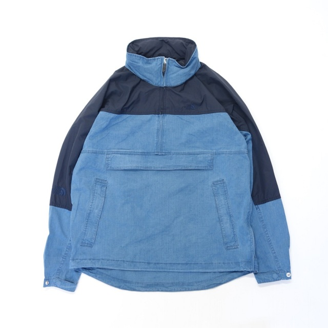 THE NORTH FACE PURPLE LABEL Indigo Mountain Wind Pullover 【SALE】