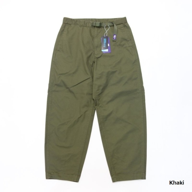 THE NORTH FACE PURPLE LABEL Stretch Twill Wide Tapered Pants 【SALE】