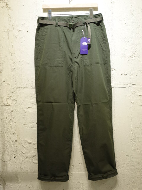 THE NORTH FACE PURPLE LABEL Cotton Nylon Ripstop Field Pants