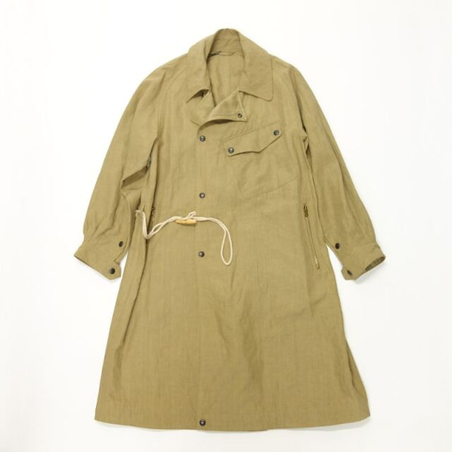Nigel Cabourn MOTORCYCLE COAT - LINEN