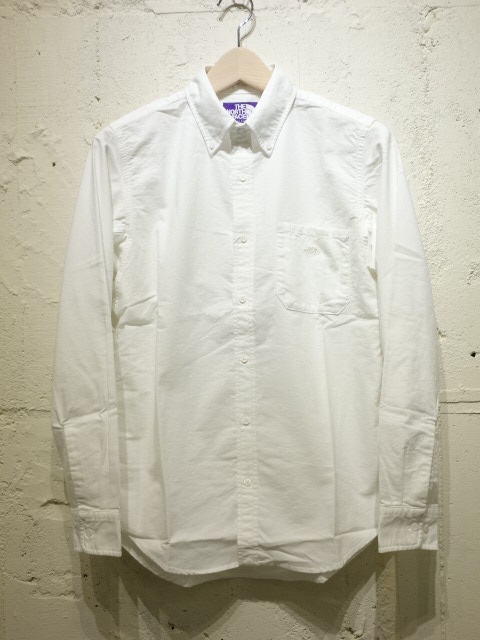 THE NORTH FACE PURPLE LABEL Cotton Polyester OX B.D. Shirt 【SALE 30%OFF】