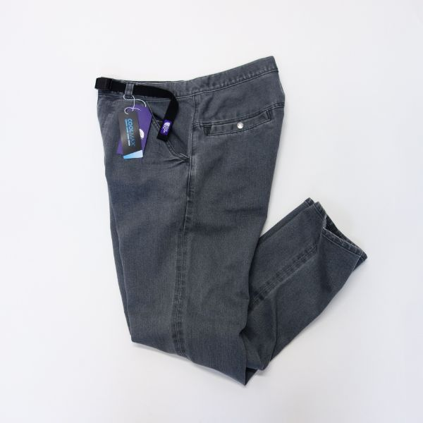 THE NORTH FACE PURPLE LABEL Webbing Belt Denim Pants