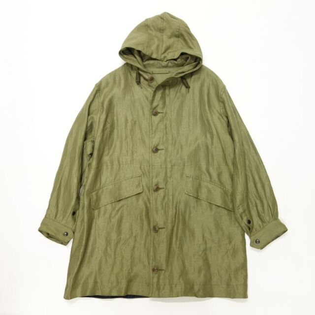 Nigel Cabourn DECK JACKET REVERSIBLE - LINEN