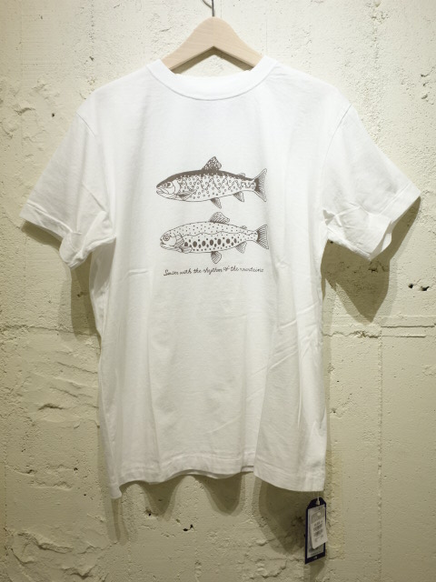 THE NORTH FACE PURPLE LABEL 5.5oz Graphic H/S Tee 【SALE】