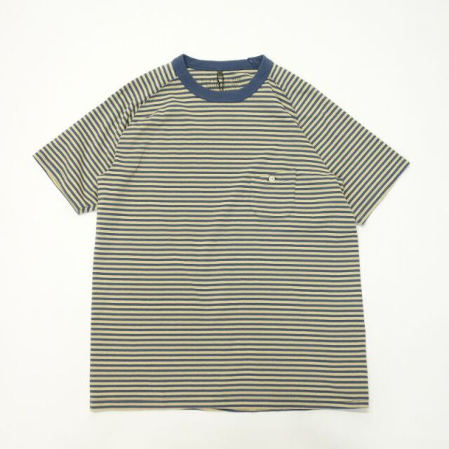 Nigel Cabourn NEW BASIC T-SHIRT - BORDER