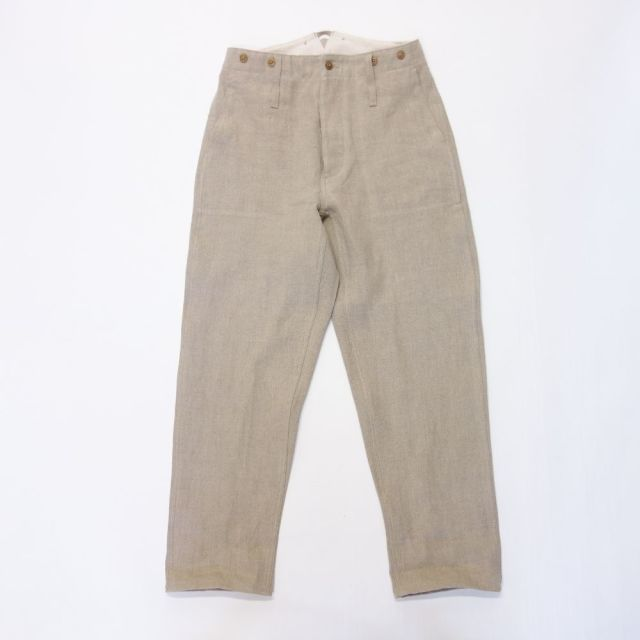 Nigel Cabourn FRENCH LINEN WORK PANT- FRENCH LINEN